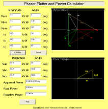 Phasor & Power Calculator